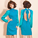 TS Open-back High Neck Dress (More Colors)