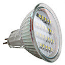 mr16 24x3528 1.5W SMD 50-60lm bianco naturale punto lampadina led (12v)