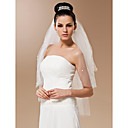 Four-tier Tulle With Pearls Elbow Veil (More Colors)
