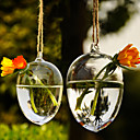 Artistic Hanging Water Drop Shaped Glass Vase