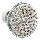GU10 2.5W 60-LED 300LM 2800-3500K Warm White Spot Bulb (220-240V)