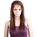 Lace Front 100% Indian Remy Hair Yaki Straight Wavy Hair Wig