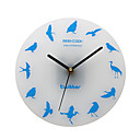 Twitter brid Stil Wanduhr