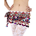 Dancewear Polyester With Sequins Performance Belly Dance Belt For Ladies More Colors