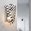 contemporaine 2 - appliques lumineuses avec des gouttes de cristal