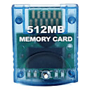 512MB Memory Card for Wii (Blue)