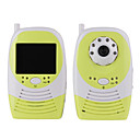 "2,4 GHz Wireless-6-LED IR Nachtsicht-Kamera mit 2,4 ""-LC-Handheld Babyphone"