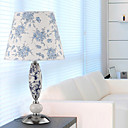 40W Nature Inspired Ceramic Table Light with Fabric Shade