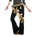 Dancewear Polyester With Appliques Performance Belly Dance Hip Scarf For Ladies More Colors