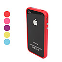 Case Pra-Choques com Botes de Metal para iPhone 4 e 4S