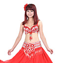Performance Dancewear Polyester With Sequined Belly Outfit More Colors Available