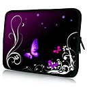 "Dark Butterfly Neoprene Laptop Sleeve Case for 10-15"" iPad MacBook Dell HP Acer Samsung"