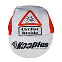 KOOPLUS-Men's 100% Polyester Cycling Cap (Red)