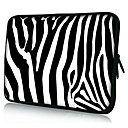 Zebra Stripe Neoprene Laptop Sleeve Case for 10-15&quot; iPad MacBook Dell HP Acer Samsung