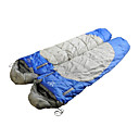 SHENGYUAN One Person 1.8M-2.0M Hollow Cotton Sleeping Bag(Blue/Red)