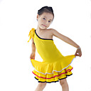Charming Dancewear Viscose Latin Dance Dress For Children More Colors