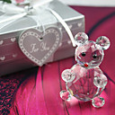 Lovely Crystal Bear Favor