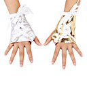 PU Fingerless Wrist Length Activity / Sports Gloves (More Colors)