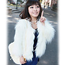 Classic Long Sleeve / sera Faux Fur Coat Career