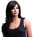 Capless Long High Quality Synthetic Japanese Kanekalon Wavy Wig Side Bang