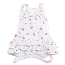 Cherry Design Cotton Dress for Dogs (XS-L)
