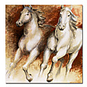 Printed Animal Horses Canvas Art with Stretched Frame