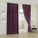 (Two Panels) Jacquard Modern Geometric Blackout Curtains