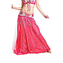 Dancewear Satin/Tulle Belly Dance Skirt For Ladies More Colors