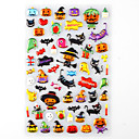 Halloween Favor Stickers  Monster