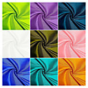55% Polyester/45% Polyamide Woven Solid Taffeta By The Yard(Many Colors)