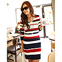 Fashion Slim Stripes Knitwear