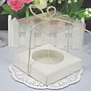 Transparent Cupcake Boxes (Set of 12)
