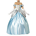 Incantevole Principessa Cenerentola Elite Collection Adult Costume di Halloween (4pieces)