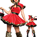 Red donne sexy Cappuccetto Halloween Costume (4 Pezzi)