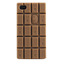 Case Suave para iPhone 4 e 4S - Chocolate (Vrias Cores)