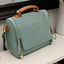 VINTAGE Pure Color Dual-use Crossbody Bag(24*12*21cm)