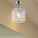 Modern Crystal Pendant Light with 1 Light Beaded Designed
