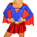 Superman Sexy Adulto Supergirl Mulheres Halloween Costume (1 Pieces)