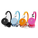 Stereo Headphones With Multicolor,Pink,Black,Blue,Orange