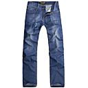 Elegant Man Casual Hole Jeans