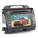 8 polegadas de DVD do carro para KIA SPORTAGE (Bluetooth, GPS, iPod, RDS, SD / USB, controle de volante, tela de toque)