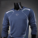 mannen ronde hals sport fleece shirt