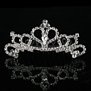 Lovely Alloy With Rhinestone Flower Girl Tiaras