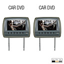 9 Inch High Resolution Car Headrest DVD Player with Games, FM(1Pair)