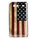 Retro American Flag Pattern Hard Case for Samsung Galaxy S Advance I9070