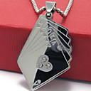 Men's Poker Pendant(Free Chain)(3.8*2.4*0.3CM)
