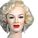 Capless Short Wave Blonde Hair Wig