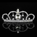 Fabulous Alloy With Rhinestone Flower Girl Tiaras