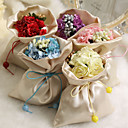 Simple Satin Favor Bags - Set of 12 (More Colors)