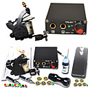 1 Tatoo Gun Kit mit Mini Power Supply